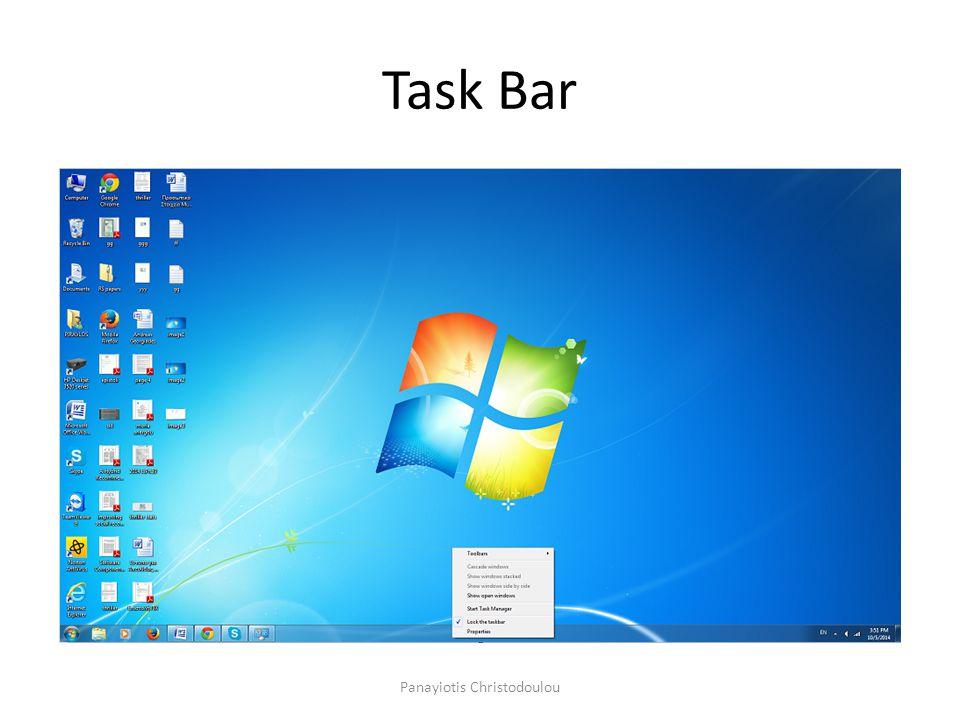 Task Bar Panayiotis Christodoulou