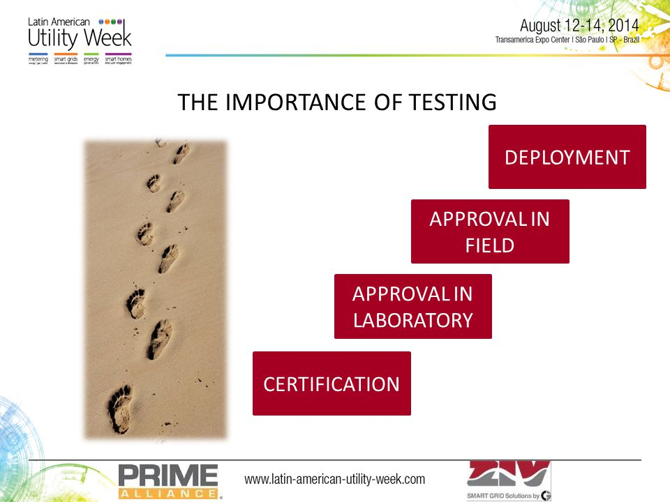 THE IMPORTANCE OF TESTING CERTIFICATION DEPLOYMENT APPROVAL IN LABORATORY APPROVAL IN FIELD