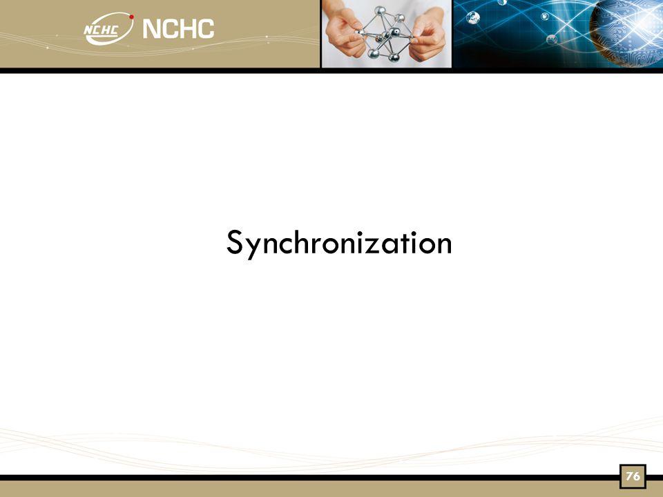 Synchronization 76