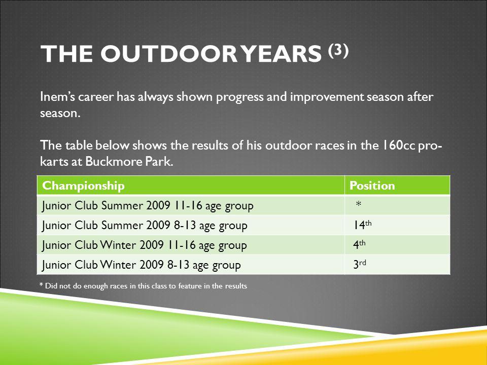 Inem's career has always shown progress and improvement season after season.