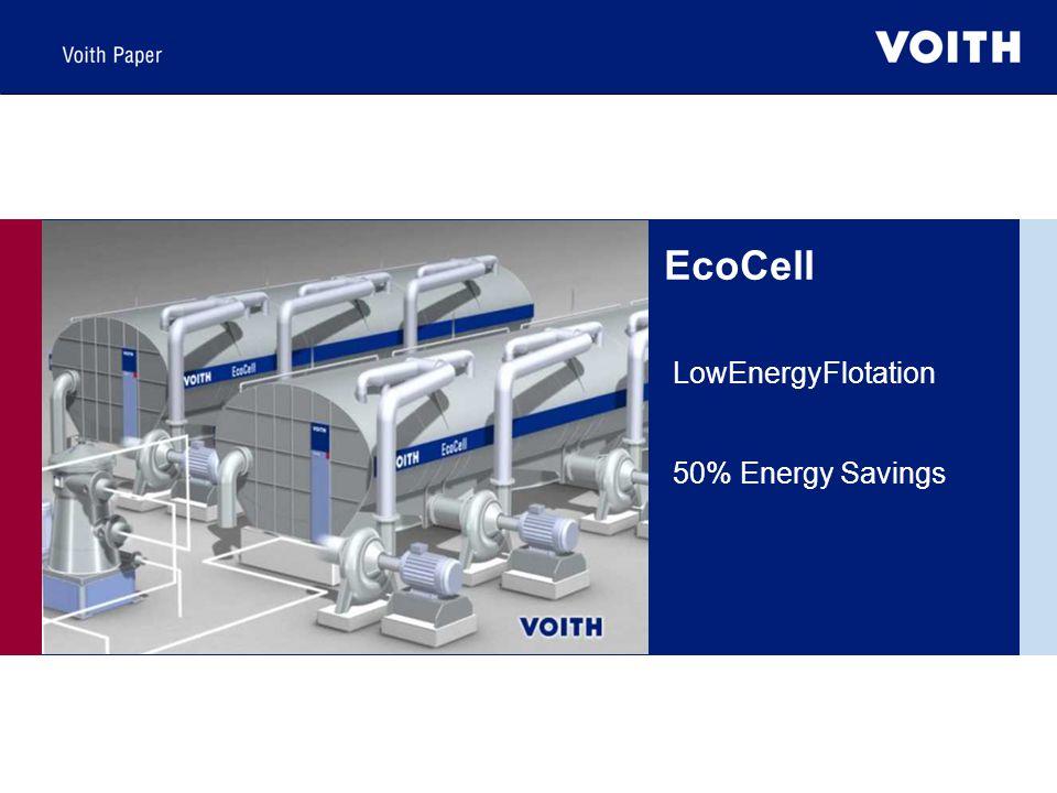EcoCell LowEnergyFlotation 50% Energy Savings