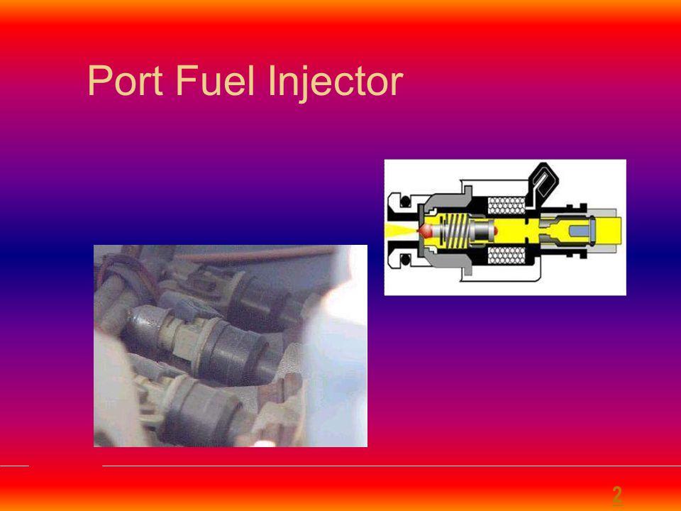 Electronic Control Unit (ECU) for MPFI System 1.Mass Airflow Sensor 2.Throttle Position Sensor 3.Oxygen Sensor(s) 4.Coolant Temperature Sensor 5.Voltage Sensor 6.Manifold Absolute Pressure Sensor 7.Engine Speed Sensor 2