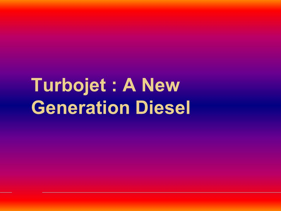 Why does your Diesel engine performance lowers with age ?Diesel engine Modern Designs to improve  Power/Weight Ratio  Fuel Economy  Emission Controls Demands  High Pressure Fuel Injection  Higher Compression Ratios  Turbo-charged engine Resulting  Fuel Pump Wear (getting aggravated with emulsion with water & foaming of Diesel)  Increased Deposits in Fuel Injectors  Fuel Injector Wear