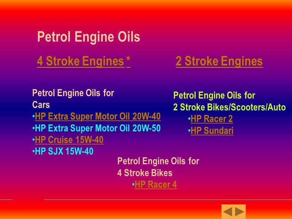 PETROL ENGINE OILS 1