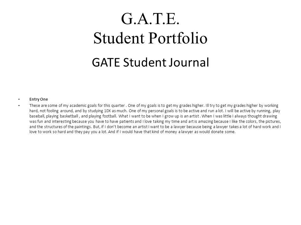 G.A.T.E.