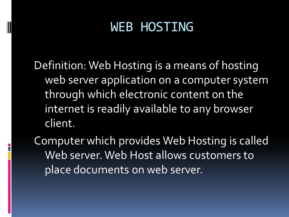 WEB PAGE Definition: A location on the net server is called Web page.