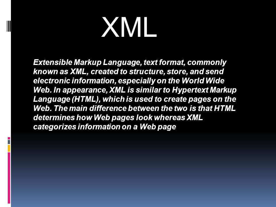 HTML  Everything we see on web is documents written in the special language called html.
