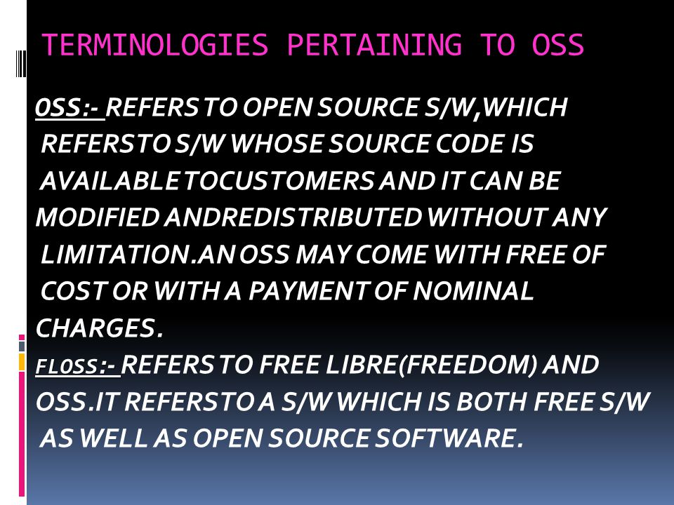 OPEN SOURCE SOFTWARES  DERIVED WORKS  INTEGRITY OF THE AUTHOR'S SOURCE CODE.
