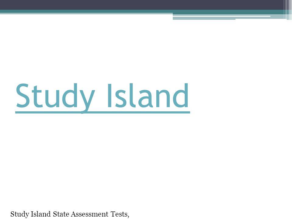 Study Island Study Island State Assessment Tests, siadmin58134_pw98784