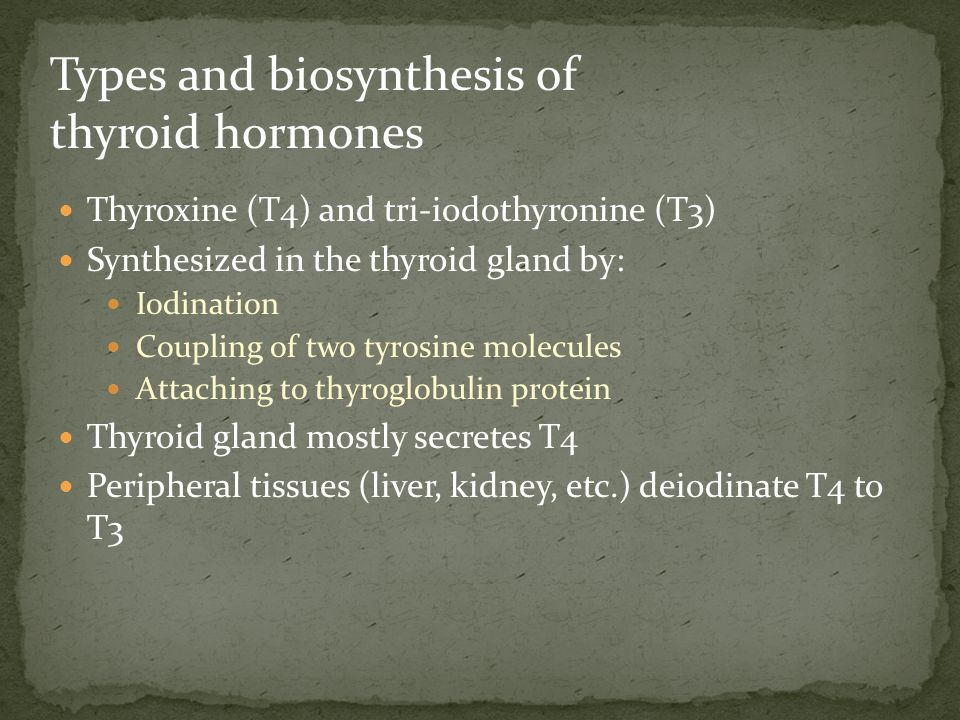 Congenital TBG deficiency can also influence results Free T4 and TSH are first-line tests for thyroid dysfunction Treatment Antithyroid drugs: carbimazole, propylthiouracil Radioiodine: sodium 131 I inhibits T4/T3 synthesis Surgery: thyroidectomy Hyperthyroidism