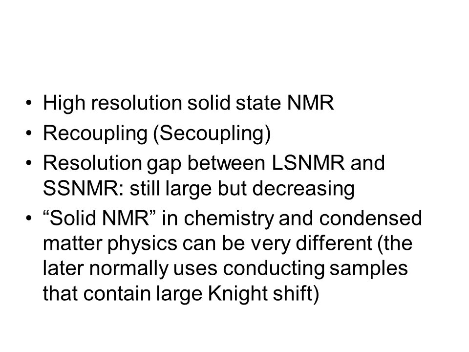 H-N-C Double- CPMAS: Spectral Simplification (A) CP-MAS 13C NMR spectrum and (B) 15N-13C double- CP/MAS NMR data of the [13C6,15N3]-His labeled LH2 complex, measured at 220 K by using a wide-bore 750 NMR spectrometer.
