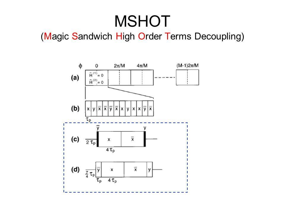 MSHOT (Magic Sandwich High Order Terms Decoupling)