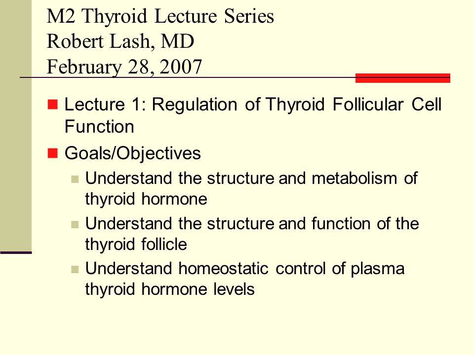 Thyrotoxicosis by a totally different mechanism A 30 y.o.