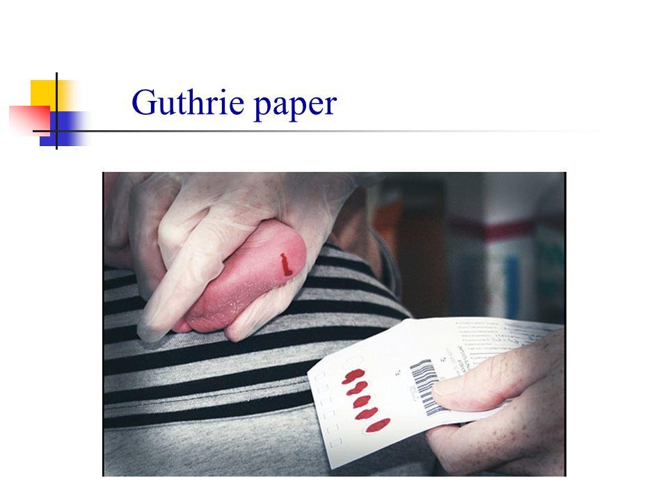 Guthrie paper