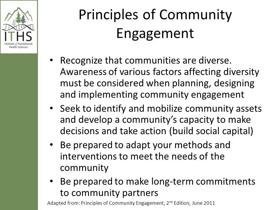 Community Engagement Continuum