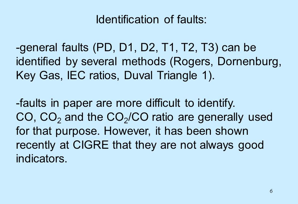 37 Example of normal and faulty operation of LTCs of type I