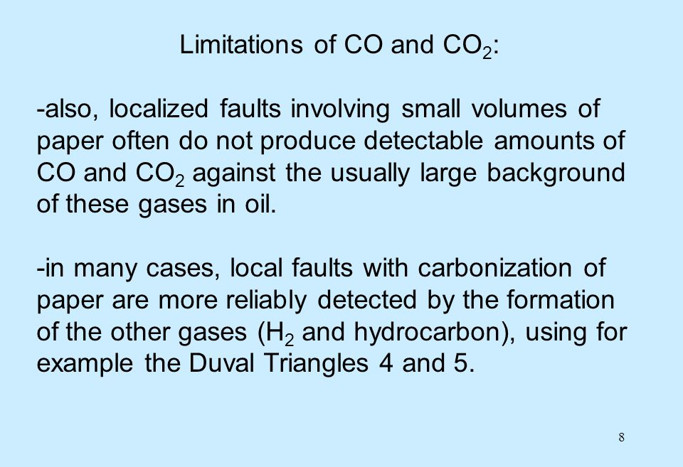 19 Gas limits in service -limits for gas concentrations and rates above IEC typical (condition 1) values have also been recommended by CIGRE (in TB # 443, 2010).