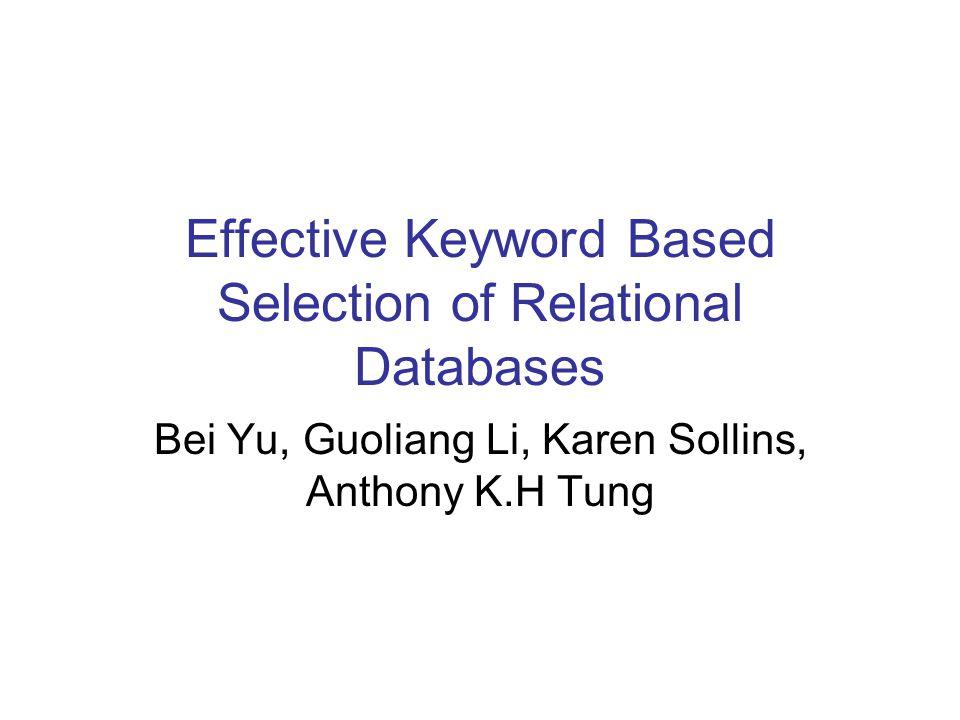 Mathematical representation of keyword relationships