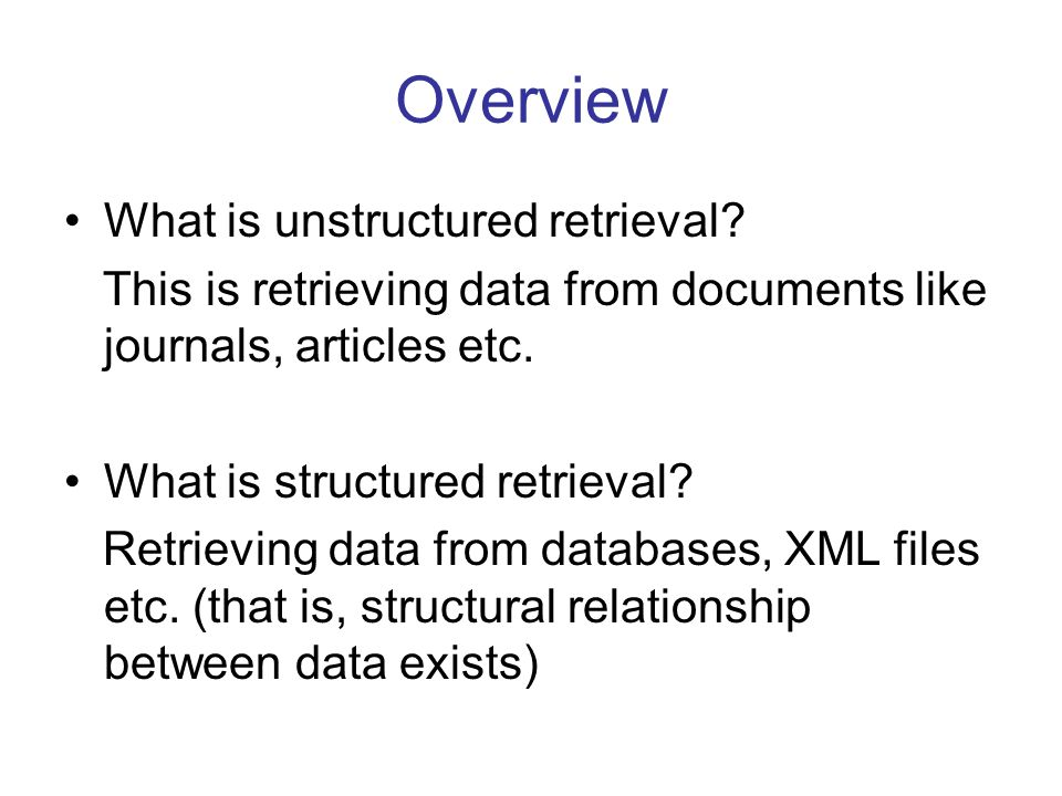 Mathematical representation of keyword relationships Cont'd A Keyword Relationship Matrix (KRM) R represents the relationship between any two pair of keywords with respect to δ and K