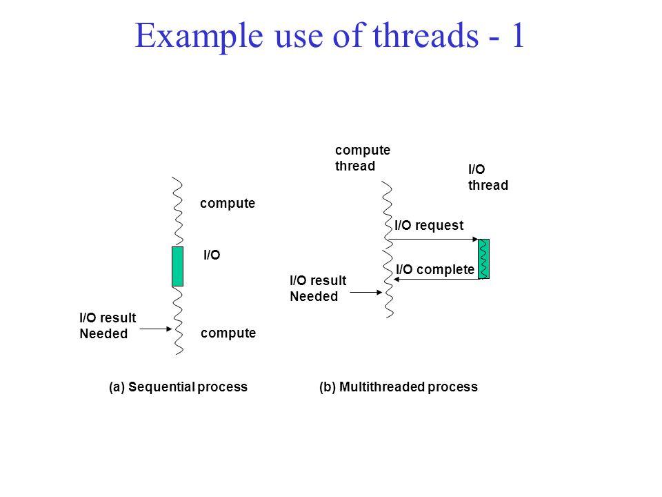condition variables –pthread_cond_wait: block for a signal –pthread_cond_signal: signal one waiting thread –pthread_cond_broadcast: signal all waiting threads