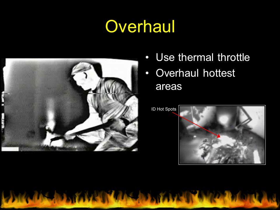 Overhaul Use thermal throttle Overhaul hottest areas