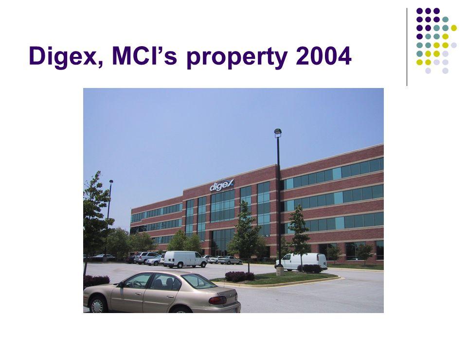 Digex, MCI's property 2004