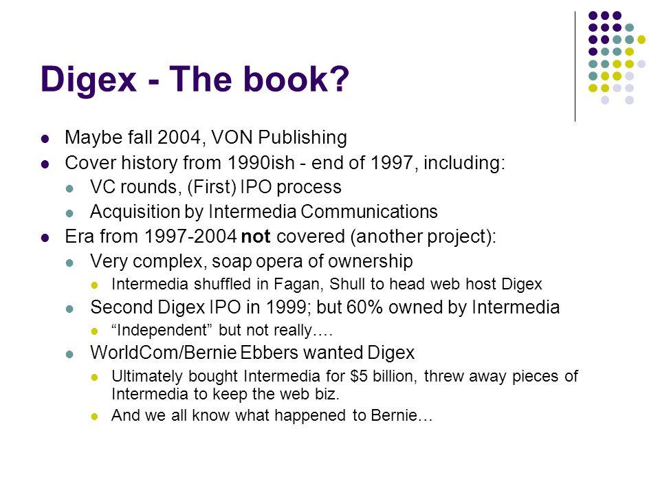 Digex - The book.