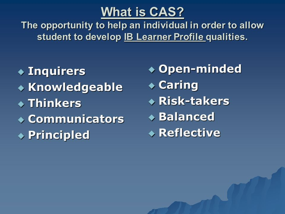 What is CAS.