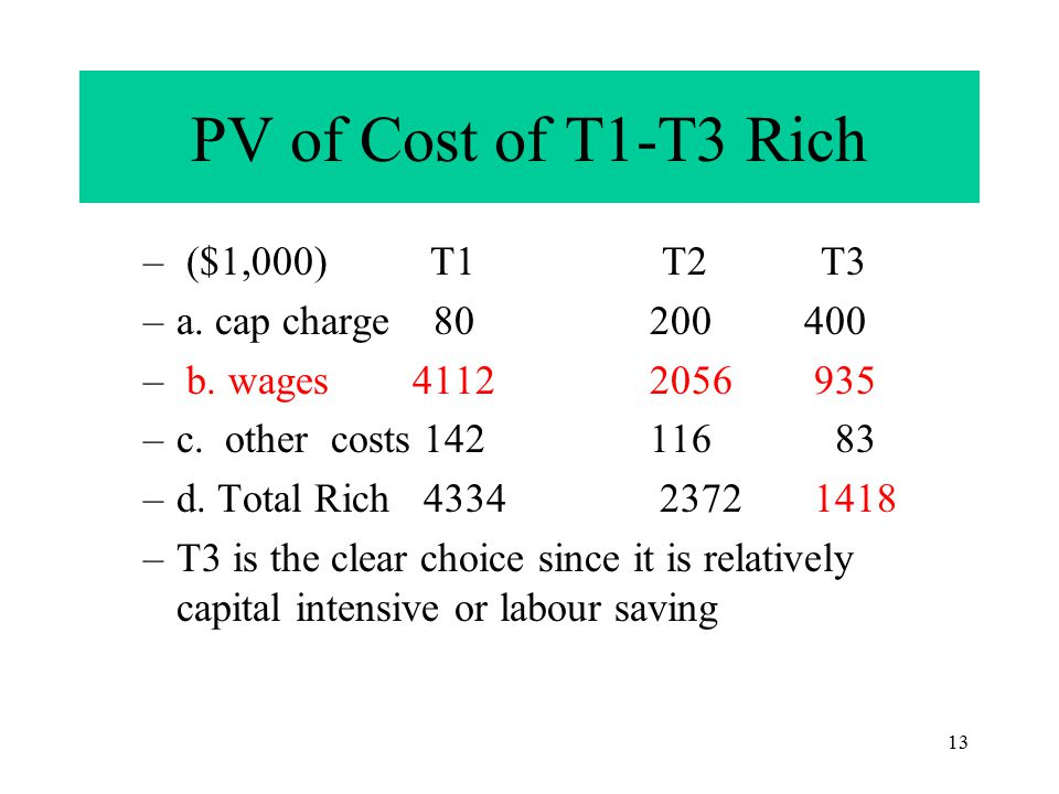 12 Factor costs: Rich and Poor Countries » RichPoor 1. i rate.05.10 2. wages/yr 151.5