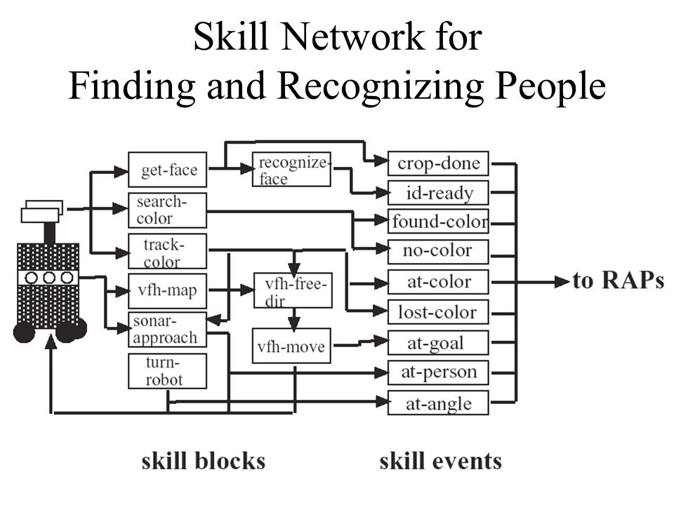 Skill Network for Finding and Recognizing People