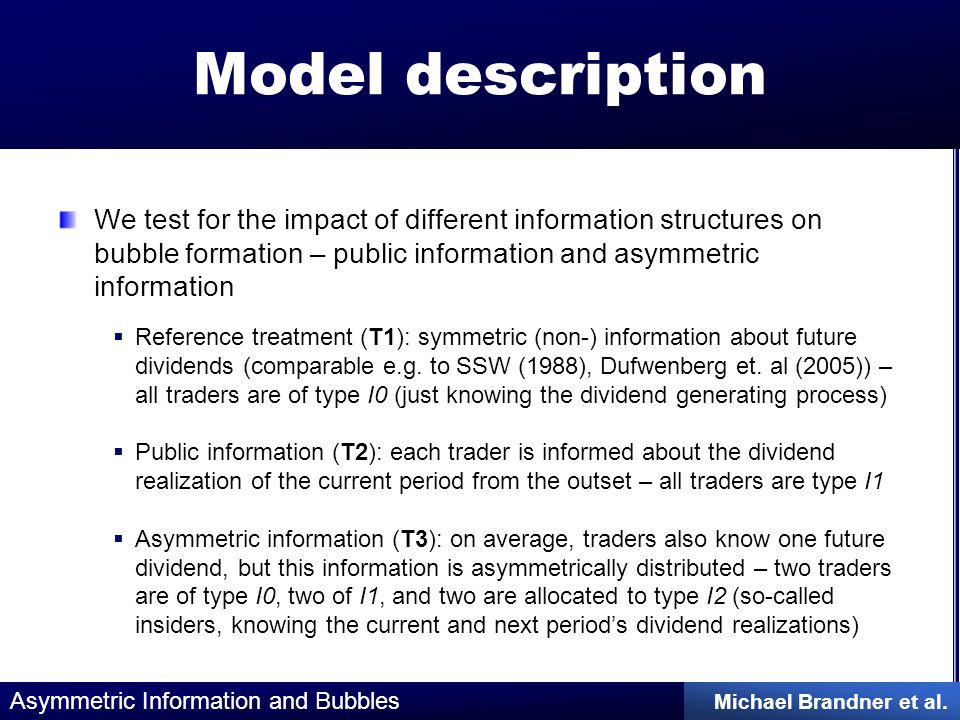 Asymmetric Information and Bubbles Michael Brandner et al.