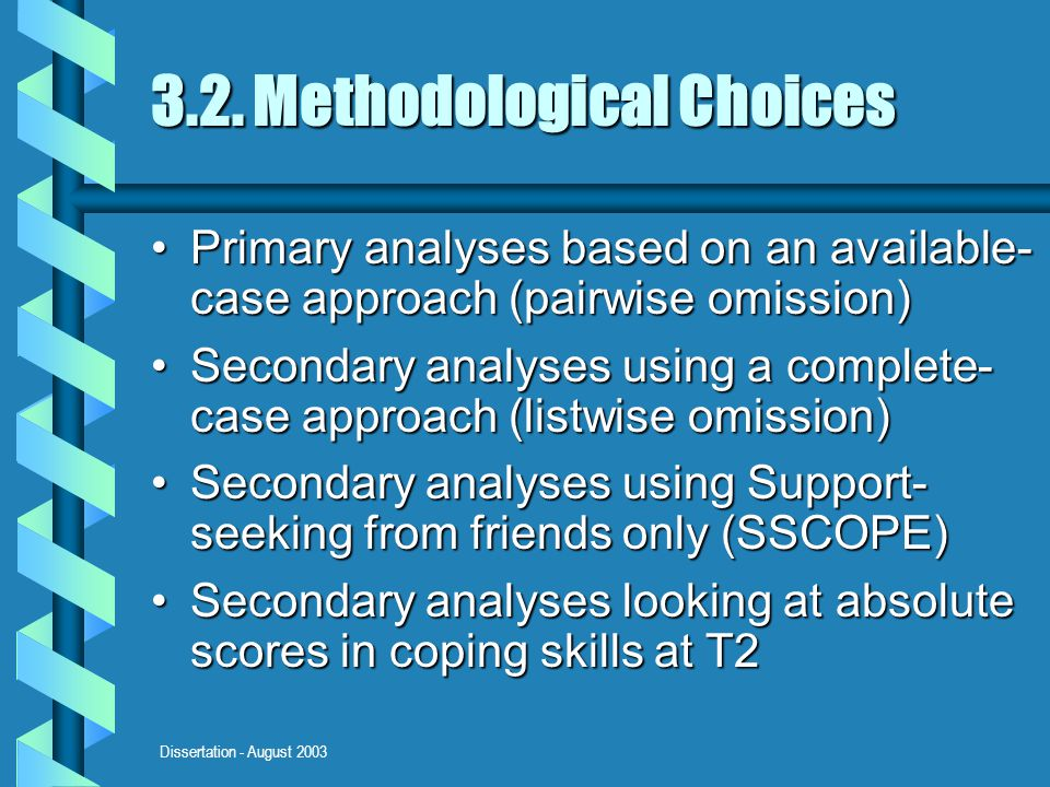 Dissertation - August 2003 3.2.