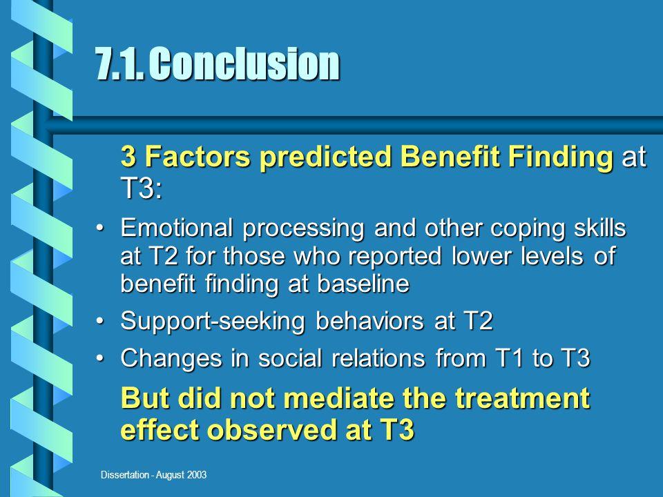 Dissertation - August 2003 7.1.