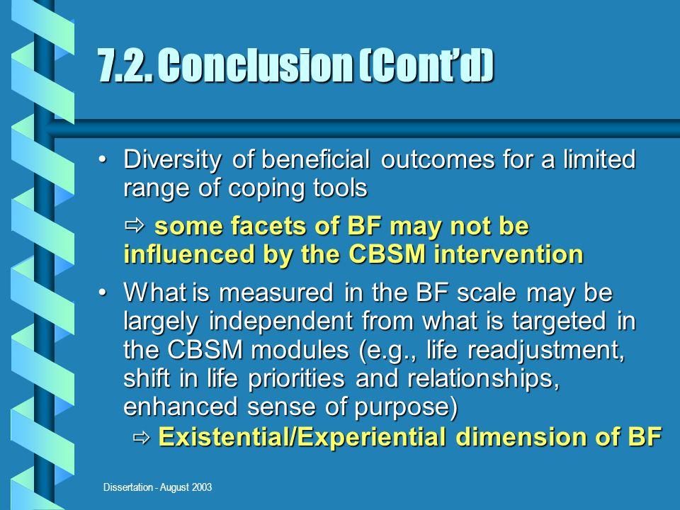 Dissertation - August 2003 7.2.