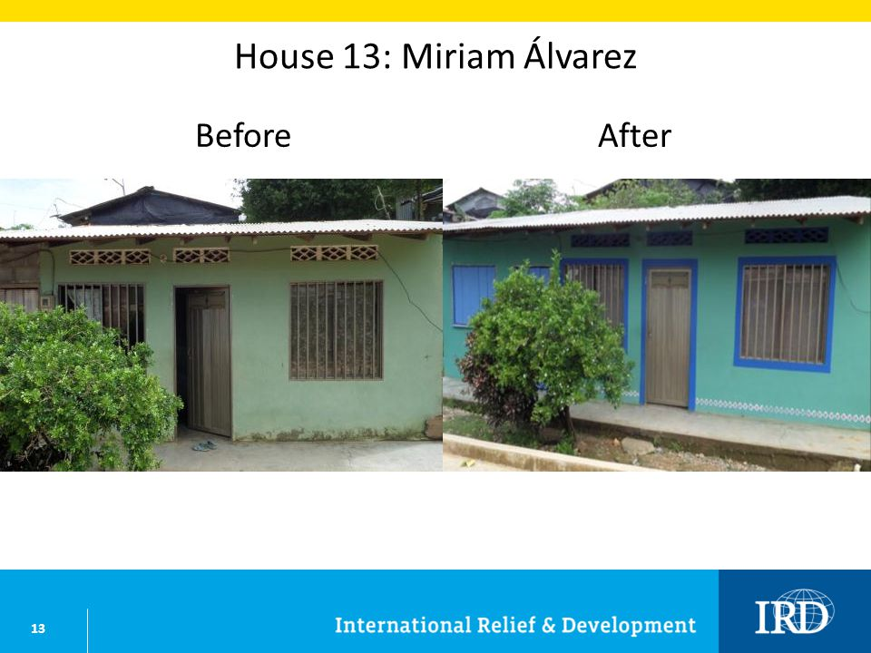 13 House 13: Miriam Álvarez BeforeAfter