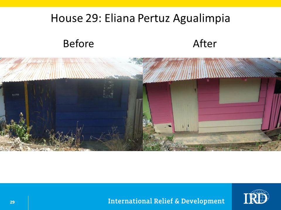 29 House 29: Eliana Pertuz Agualimpia BeforeAfter