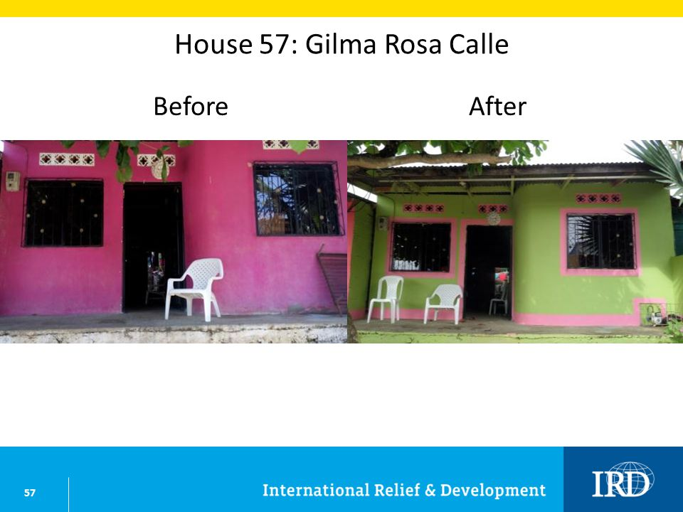 57 House 57: Gilma Rosa Calle BeforeAfter