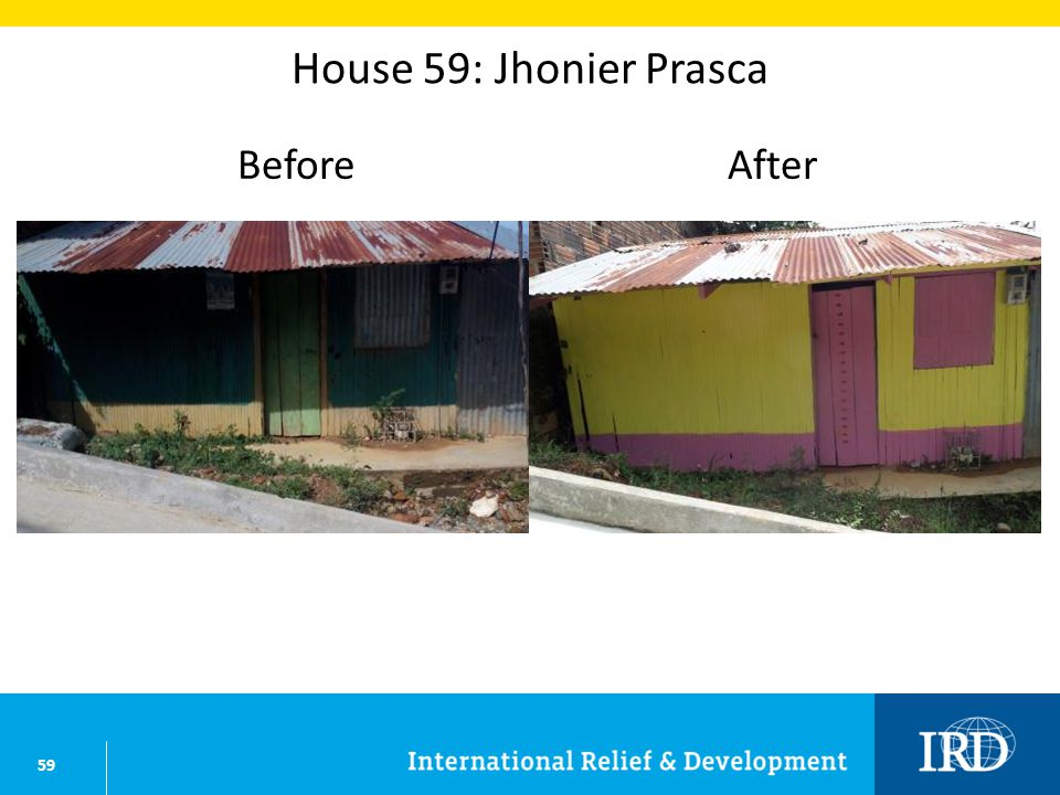 59 House 59: Jhonier Prasca BeforeAfter