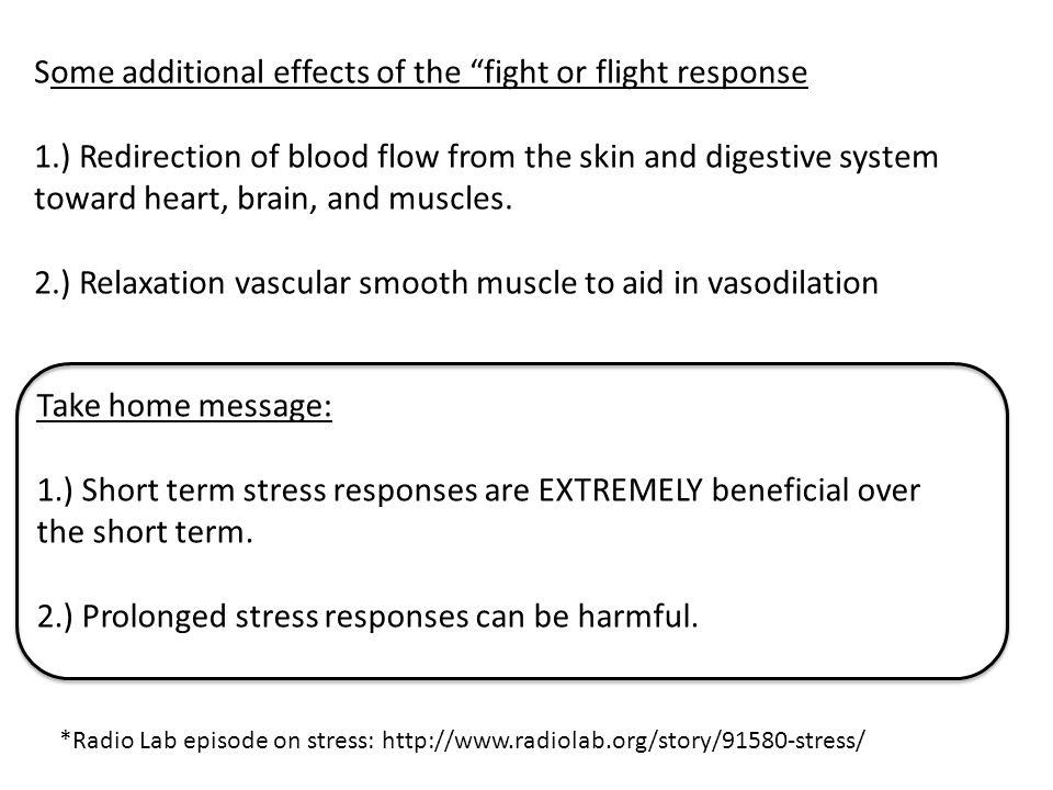 Long term stress responses