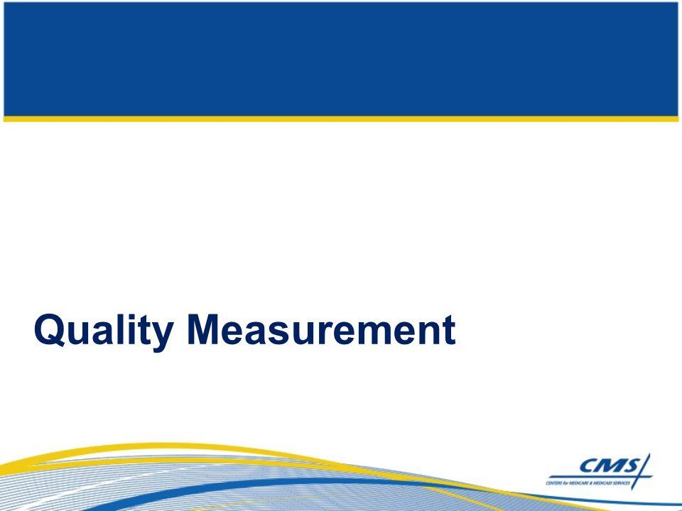 Quality Measurement