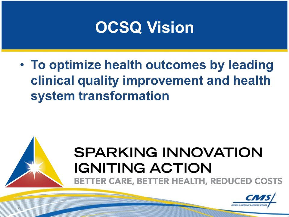 OCSQ Organization Front Office leadership: Dr.Patrick Conway, Wes Perich, Dr.