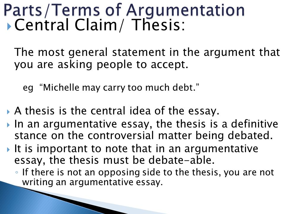 thesis statements for argument analysis Thesis statements and topic what's your argument about this idea] better thesis: of telling the plot of the story and then adding a sentence of analysis.