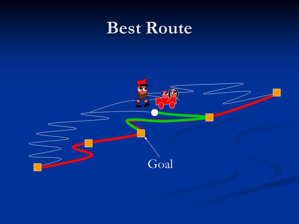 Best Route Goal