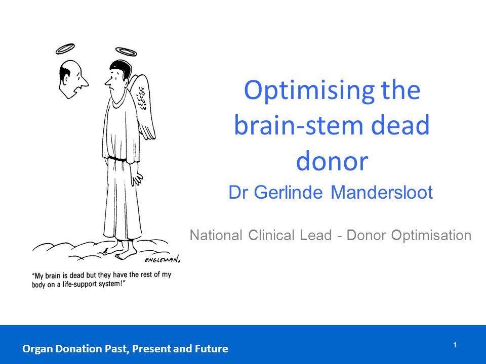12 Organ Donation Past, Present and Future