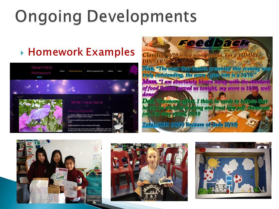  Homework Examples