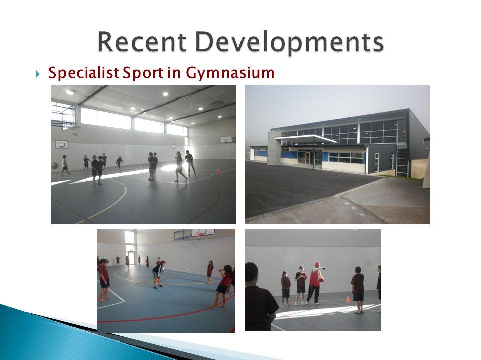  Specialist Sport in Gymnasium