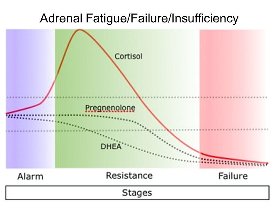 Adrenal Fatigue/Failure/Insufficiency
