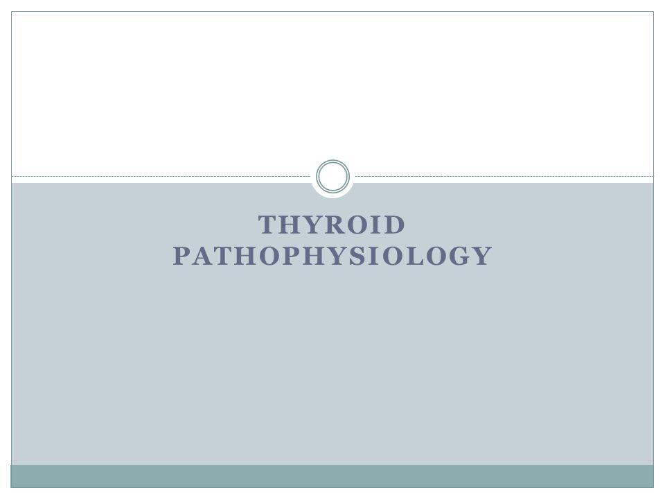 THYROID PATHOPHYSIOLOGY