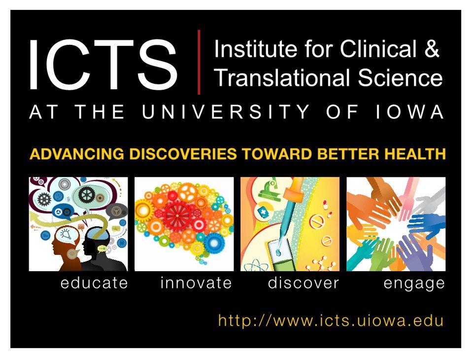 ICTS: Strategic Directions for a Winning CTSA Application Gary E.