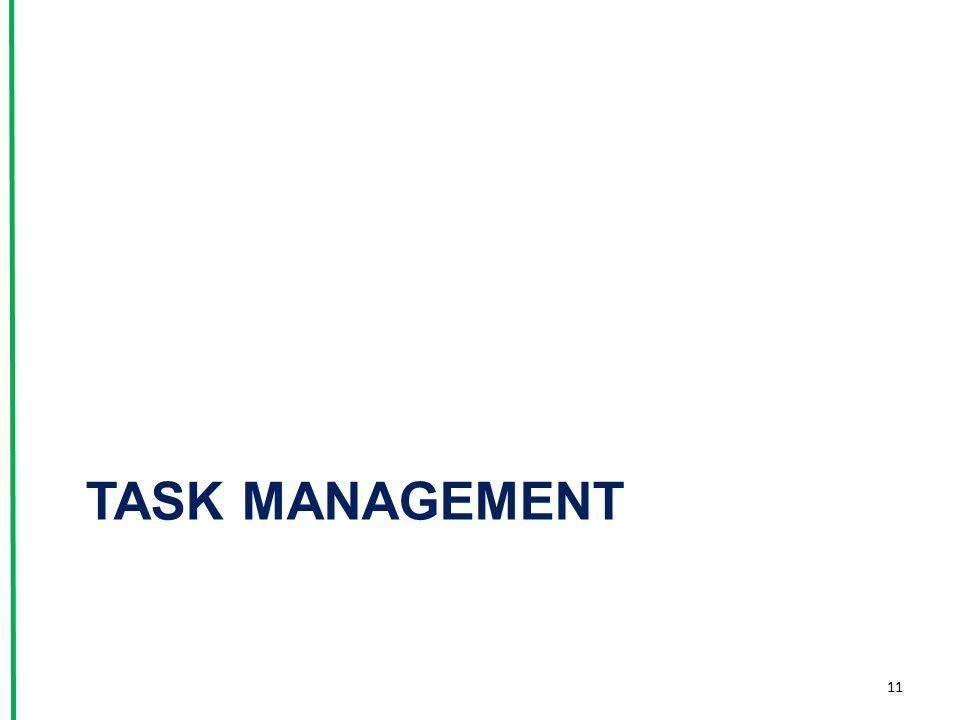 TASK MANAGEMENT 11